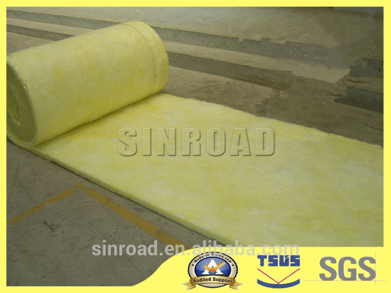 Insulation glasswool pipe insulation