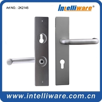 High quality anodizing aluminum sheet door handle for gate