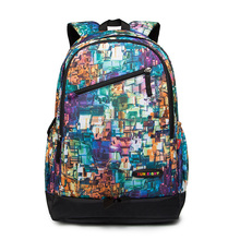 2017 polyester oem rolling promotional color life bookbags mens drawstring school bags backpack for teenages