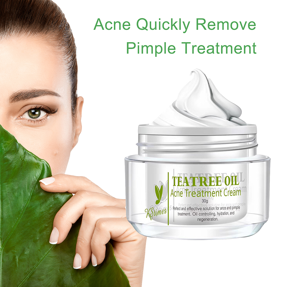 Private Label Acne Tone Skin Care Products Tea Tree Oil Pimple Solution Treatment Cream Best Anti Clear Gel For In India Buy Ance