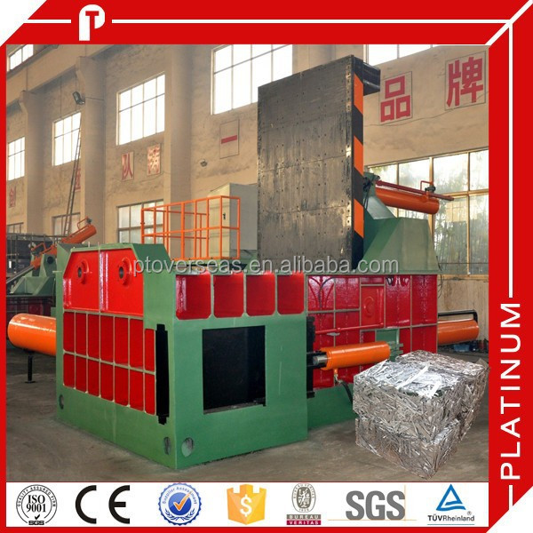 Y81T-1250 metal scrap car baling machine