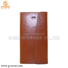 High quality factory price pu leather case for iphone 5 for phone case