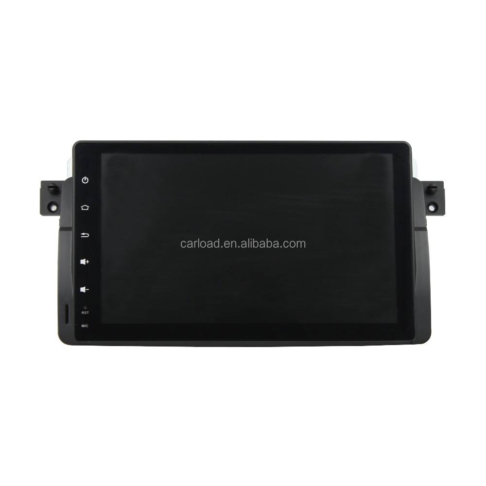 1 din 9 inch android 5.1.1 car dvd gps for BMW E46 M3