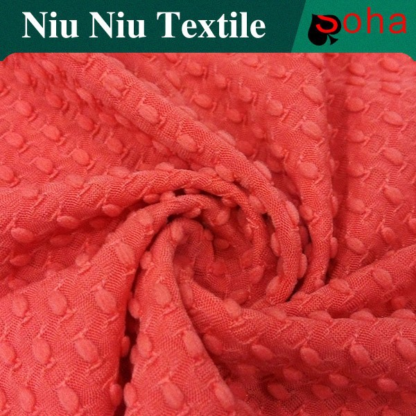 2016 100% Polyester Knit Jeresy Thick Knit Fabric