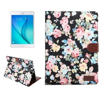 Wholesale Price Cloth Surface Leather Wallet Case for Samsung Galaxy Tab S2 8.0 Cover