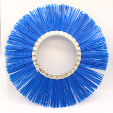 street sweeper brush for sale poly steel wire snow cleaning brushes
