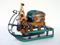 Resin Christmas Sleigh