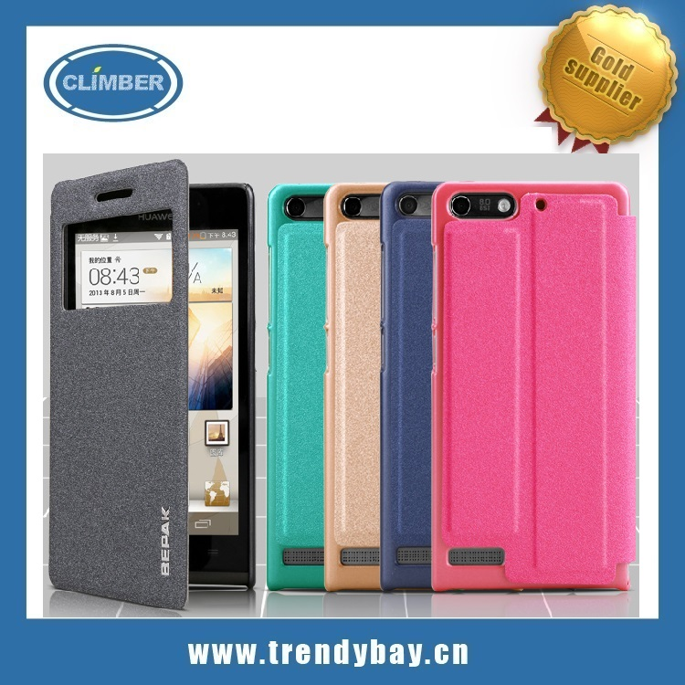 Bepak ming series flip case cover for huawei ascend g6