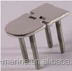 S7040B Iron furniture marine hardware stainless steel butt / strap hinge