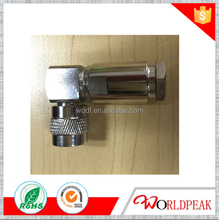 tnc male plug nickel plated connector for lmr400 cable