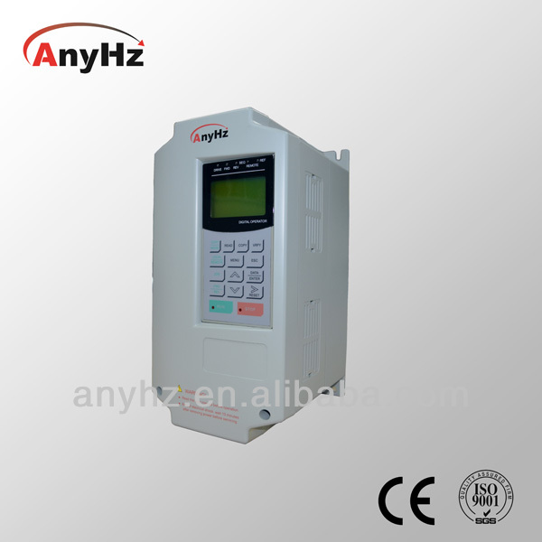 V/F control wigh PG frequency inverter 50hz to 60hz for single and three phase motors 7.5kw