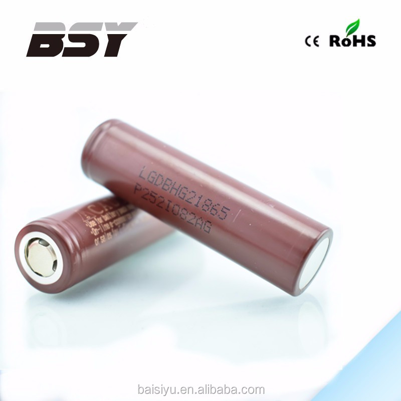 Good news! wholesale price lg icr 18650 HG2 3000mah 3.7v rechargeable auto battery