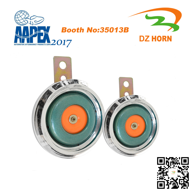 12v car speaker disc horn high electric car horn dual tone auto automotive motorcycle snail horn car