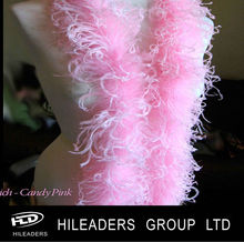 Pink Dyed Ostrich Feather Boa HH311