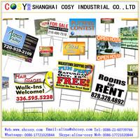 Yard signs printing,Coreflute sign / corrugated plastic board printing