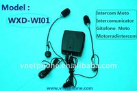 Wired Motorcycle interphone support MP3/FM Radio