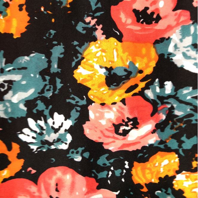 Latest Arrival Top Quality polyester dot printed leece fabric fine workmanship