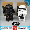 Manufacturer Custom Super Cute Stars War 3D Plastic toys Action Figure