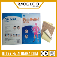 Trending hot products Chinese medicinal herbal Cold and Hot Pain Relief Patch
