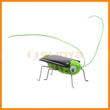 1V 70ma Solar Panel Robot Promotional Grasshopper Toy