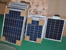 High Efficinency pv 100 watt solar panel with CE TUV for solar power system