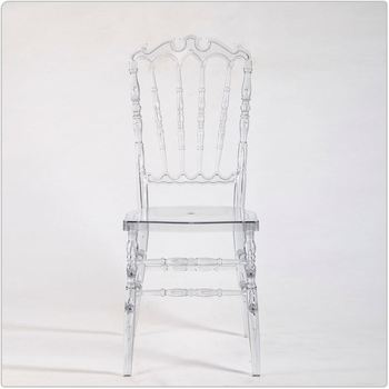 Clear Occasional Transparent Royal Chair