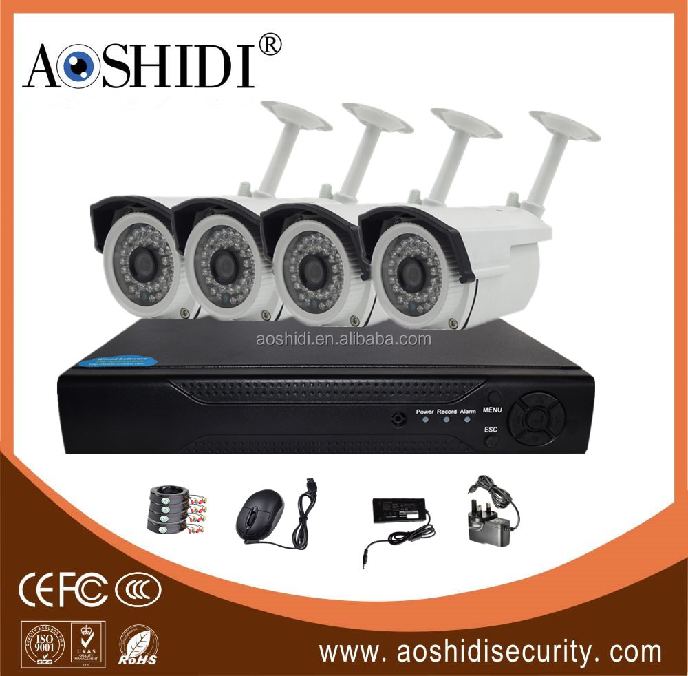 Hot selling 720P AHD camera kits 4 ch for home <strong>security</strong>