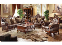 royal classical hotel carving sofa set A91