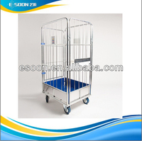 2014 Hot sale used roll off containers wire mesh container