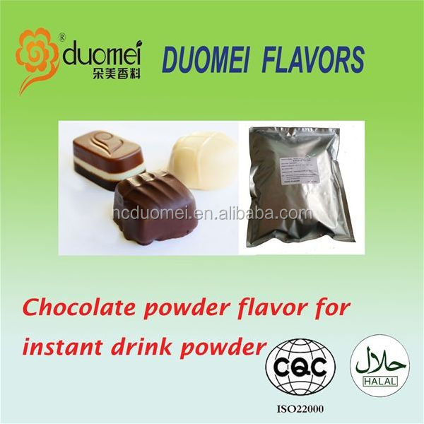 Concentrate flavouring chocolate powder flavor for instant drink powder