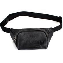 New <strong>fashion</strong>!Convenient real leather durable men waist bag sport, animal waist bag