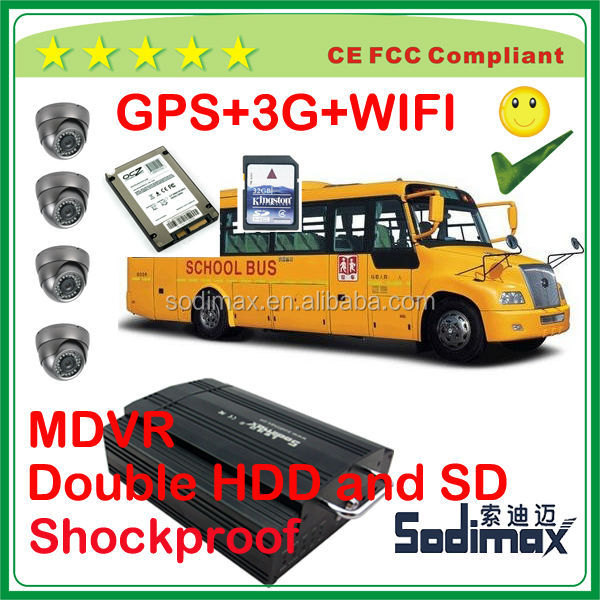 West Palm Beach Boca Raton GPS WIFI 3G 1080p Mobile DVR with CCTV system