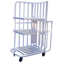 Custom Aluminium trolley,welded struction,foldable