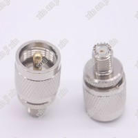 PL259 UHF to mini UHF adapter PL259 UHF male to mini UHG female Jack RF connector