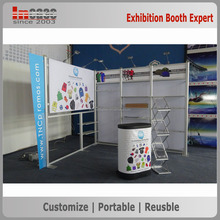 Incase Custom exhibition expo folding exhibition stand 3x3