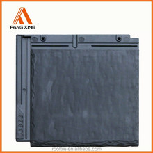Synthetic plastic slate roof tile and natural slates and synthetic slate tile