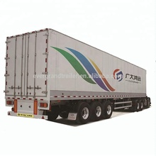 China new popular tri-axle camper box trailer for sale