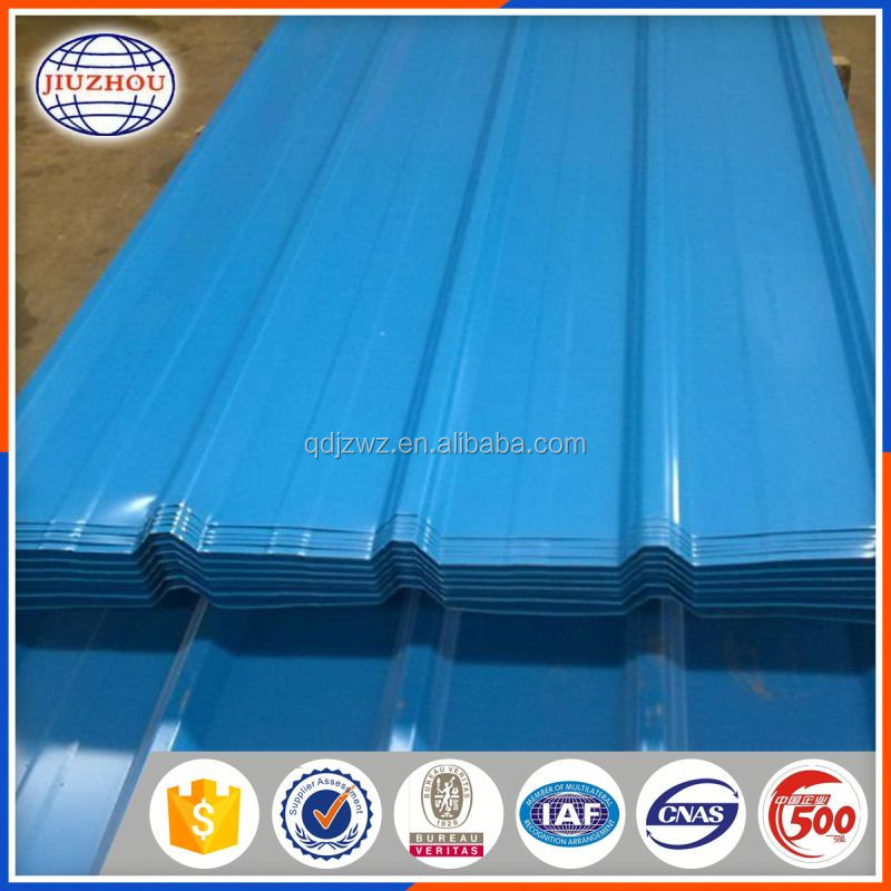 Roofing Application Galvanized Corrugated Ppgi Roofing Sheet Price