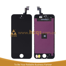 Cheap foxcnn cell phone LCD touch screen for iphone 5S LCD spare parts repair factory price for iPhone 5s lcd with touch H-Q