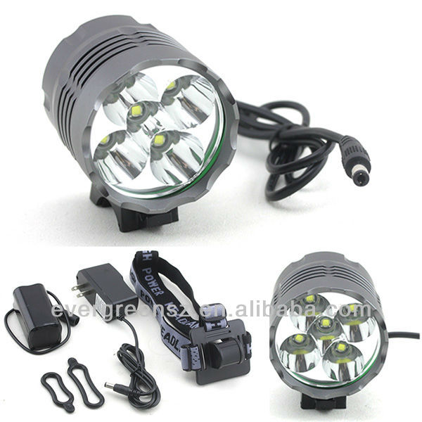 CREE T6 6000 Lumen 8800mah Motorcycle/Dirt Bike Led Light Import From China