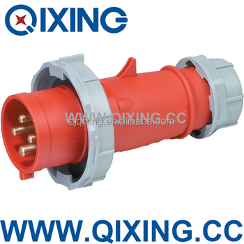 IP67 32amp 4Pins Waterproof oudoor industrial plug & socket