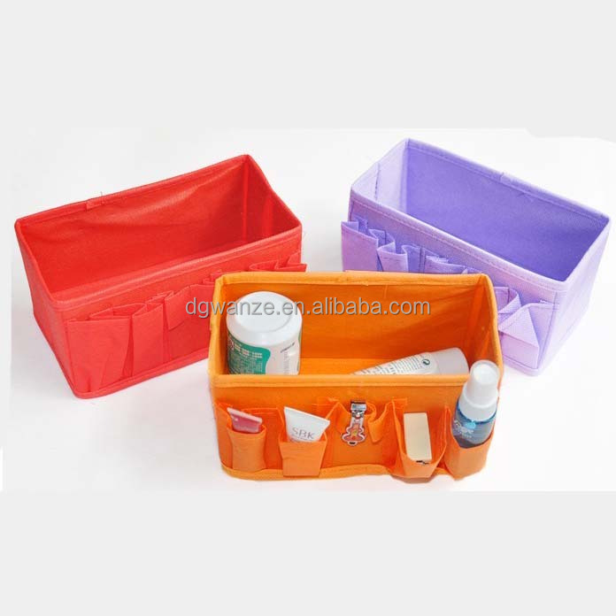 multipurpose storage box nov woven foldable storage box Foldable Cosmetic Storage Box