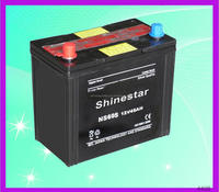 Shinestar Professionally-Producing 12V 45AH gs dry car battery With Best Factory price