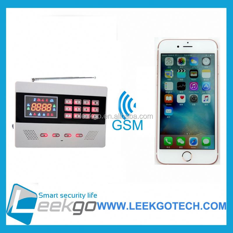 LEEKGO Best selling GSM ip camera based wifi gsm alarm system