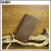 Top selling Custom RFID Blocking slim card wallet Bank/ID Credit Card Holder mens leather Wallet
