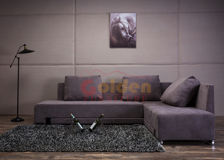 A837 golden furniture new design fabric sofa bed for sale for Sofa bed for sale philippines