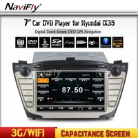 MEKEDE Full Touch Hyundai IX35 2013 GPS DVD Player Car Audio Stereo Player With GPS WIFI Bluetooth