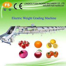Good Quality electronic apple grader/automatic fruit and vegetable washing,waxing and sorting machine