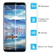 3d full cover japan glass 9H HD tempered glass for samsung s8