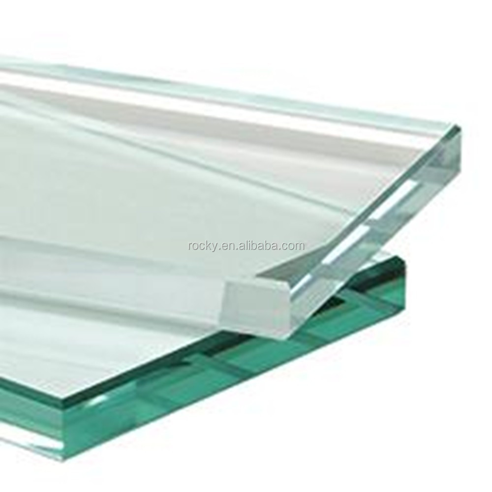 Qingdao Rocky high quality best price 6mm 8mm 10mm 12mm tempered glass deck panels